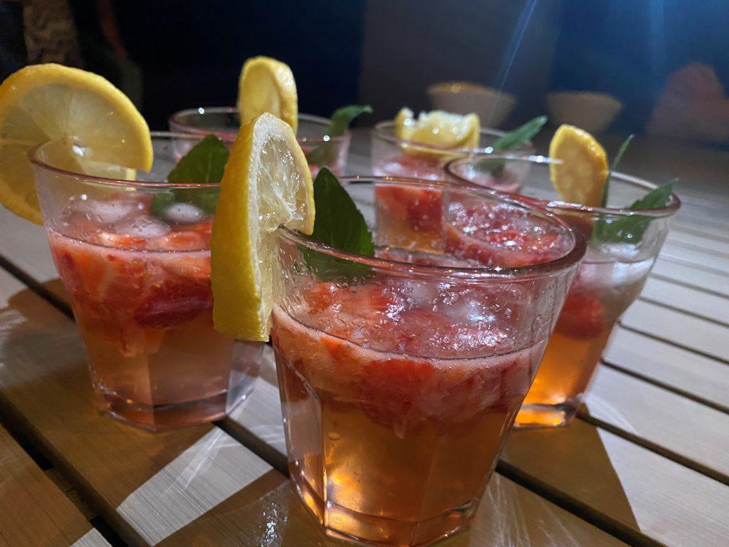 Erdbeer-Spritz