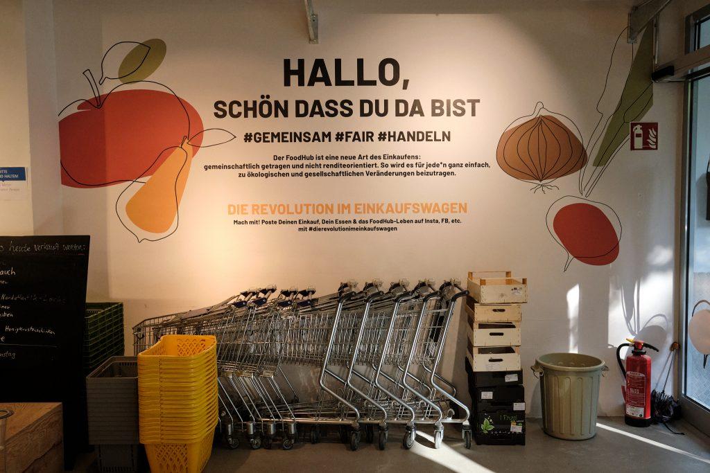 FoodHub Eingangsbereich
